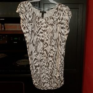 Xl Tunic Top with Side Ruching